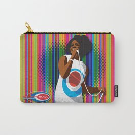 Gladys Subway Soul by Dawn Carrington Carry-All Pouch