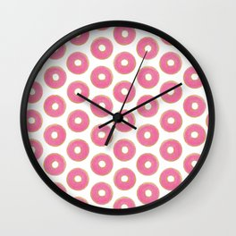 Donut Sprinkles Wall Clock