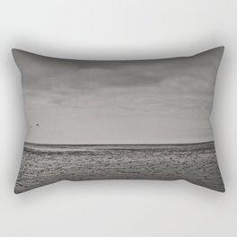 Two birds and a frozen sea Rectangular Pillow