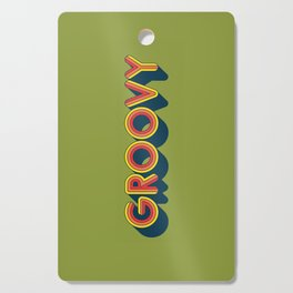 Groovy Cutting Board