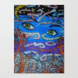 Sky Eyes Canvas Print