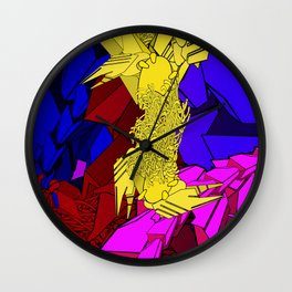 AUTOMATIC WORM 3 Wall Clock