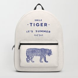 Smile Tiger, it's Summer Backpack