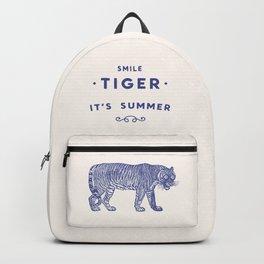 Smile Tiger, it's Summer Backpack