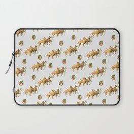 CHRISTMAS DOGS PATTERN Laptop Sleeve