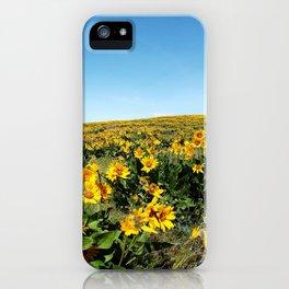 wildflower season iPhone Case