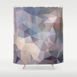 Polygon pattern 9 Shower Curtain