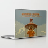 moonrise kingdom Laptop & iPad Skins featuring Moonrise Kingdom by FunnyFaceArt