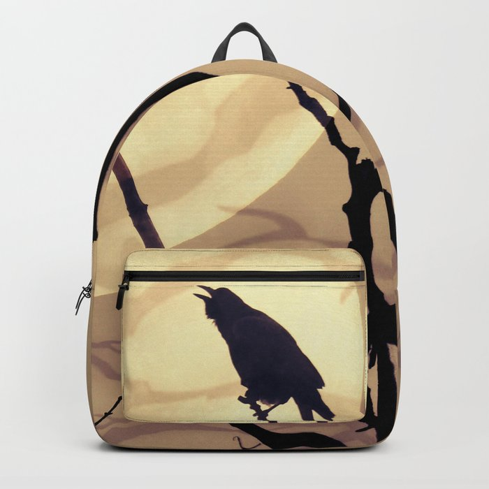 The Crow, The Moon, The Shadows Backpack