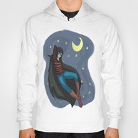 starry night Hoodies featuring Starry Night by Kitty C.