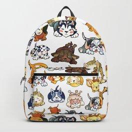 Kawaii Cute Dogs by dotsofpaint Backpack