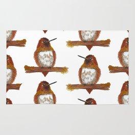 Rufous Hummingbird Rug