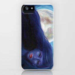 Purple Woman iPhone Case