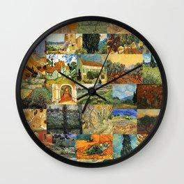 Vincent van Gogh Montage Wall Clock