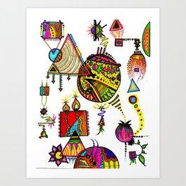 """""""ColorFall"""" Art Print"""