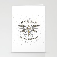 hyrule Stationery Cards featuring Hyrule Royal Brewery by Tugrul Peker