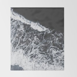 sea lace Throw Blanket