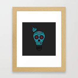 Noche de los Muertos Framed Art Print