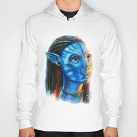 avatar Hoodies featuring Avatar by Aoife Rooney Art