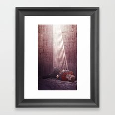 Ten of Swords (Jesse Pinkman - Breaking Bad) Framed Art Print