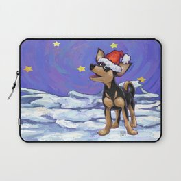 Chihuahua Christmas Laptop Sleeve