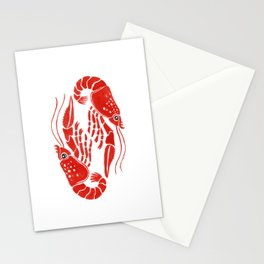 Lobsters Stationery Cards