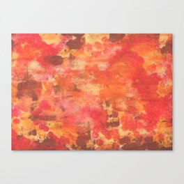 Abstrat fire Canvas Print