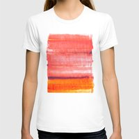 rothko T-shirts featuring Summer heat by Picomodi