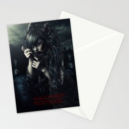 Halloween Nightmare Art Stationery Cards