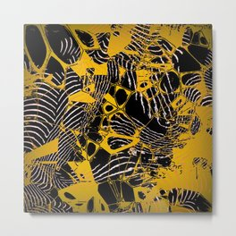 Crazy abstract Nighmare D Metal Print