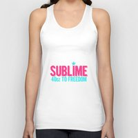 sublime Tank Tops featuring SUBLIME by MsSarahKane