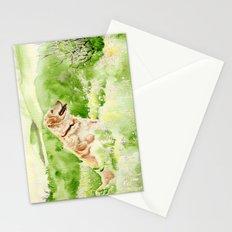 Golden Retriever Chance Stationery Cards