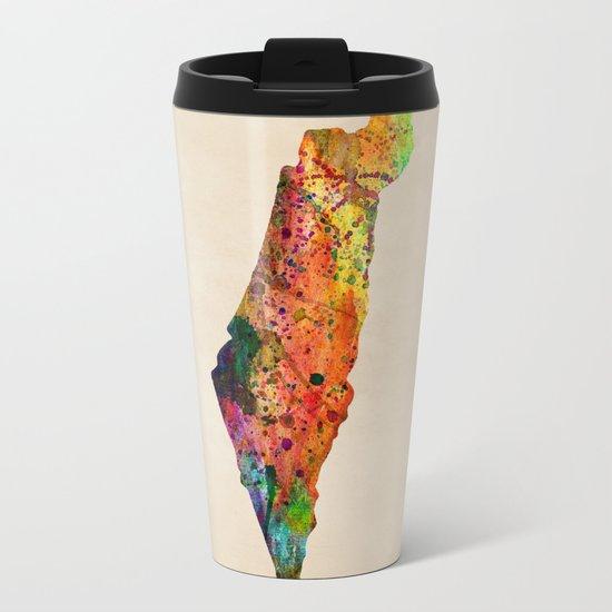 israel Metal Travel Mug