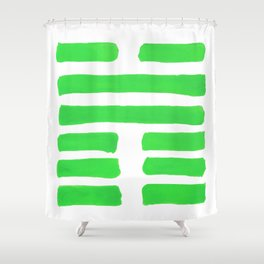 Coming Together - I Ching - Hexagram 45 Shower Curtain