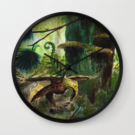 Yi Qi Munches on some Lunches Wall Clock