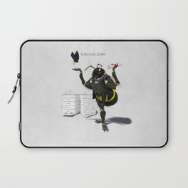 To Bee or Not Too Bee Laptop Sleeve