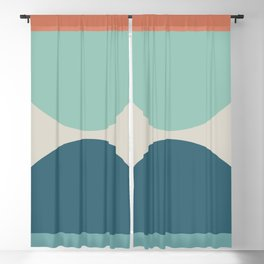 Abstract Geometric 22 Blackout Curtain