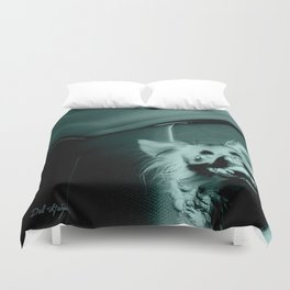 Gremlin Smile Duvet Cover
