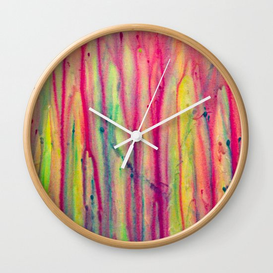 Abstract Painting 22 Wall Clock