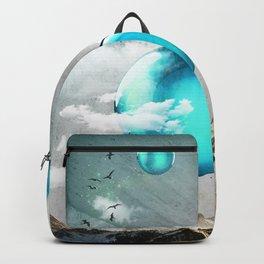 Teal Orbs Backpack