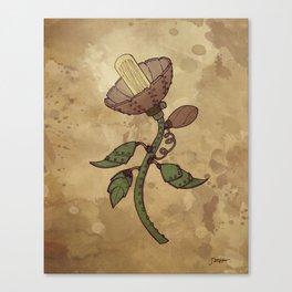 Steampunk Flower Canvas Print