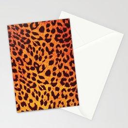 Leopard Pattern Stationery Cards