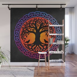 Viking Yggdrasil World Tree Wall Mural