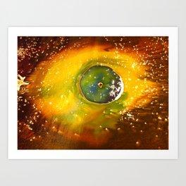 An Eye of Creation Art Print