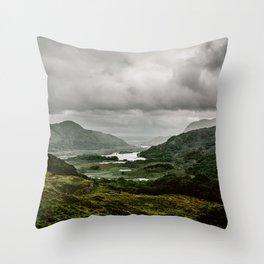 Ladies View Kerry Ireland Throw Pillow