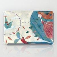 voyage iPad Cases featuring voyage by flaviasorr
