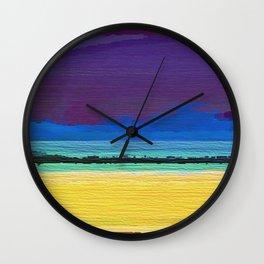 Storm Surf Wall Clock