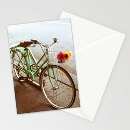 MINTY BIKE Stationery Cards
