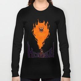 Hausu Flame Long Sleeve T-shirt