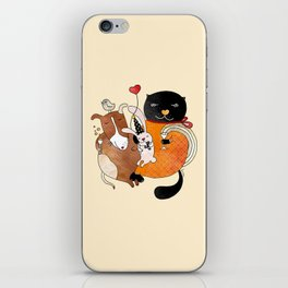 Celebrate Animals iPhone Skin